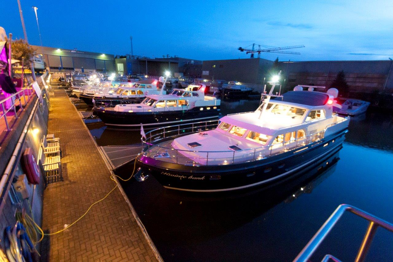Linssen In-Water Boat Show 2016