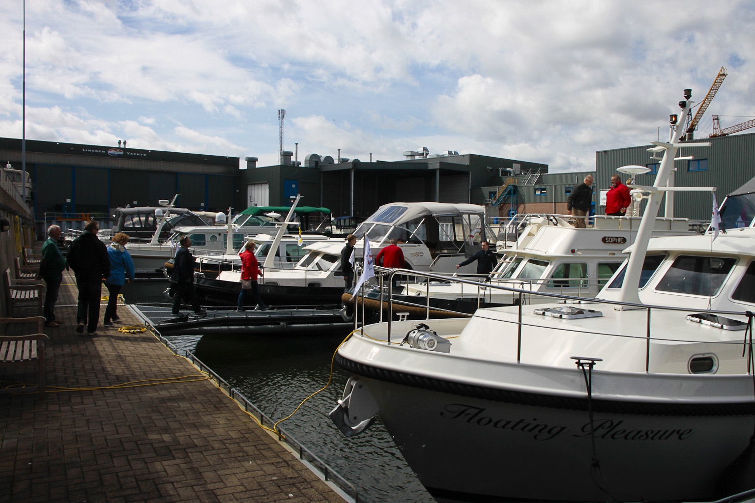 Linssen In Water Boat Show