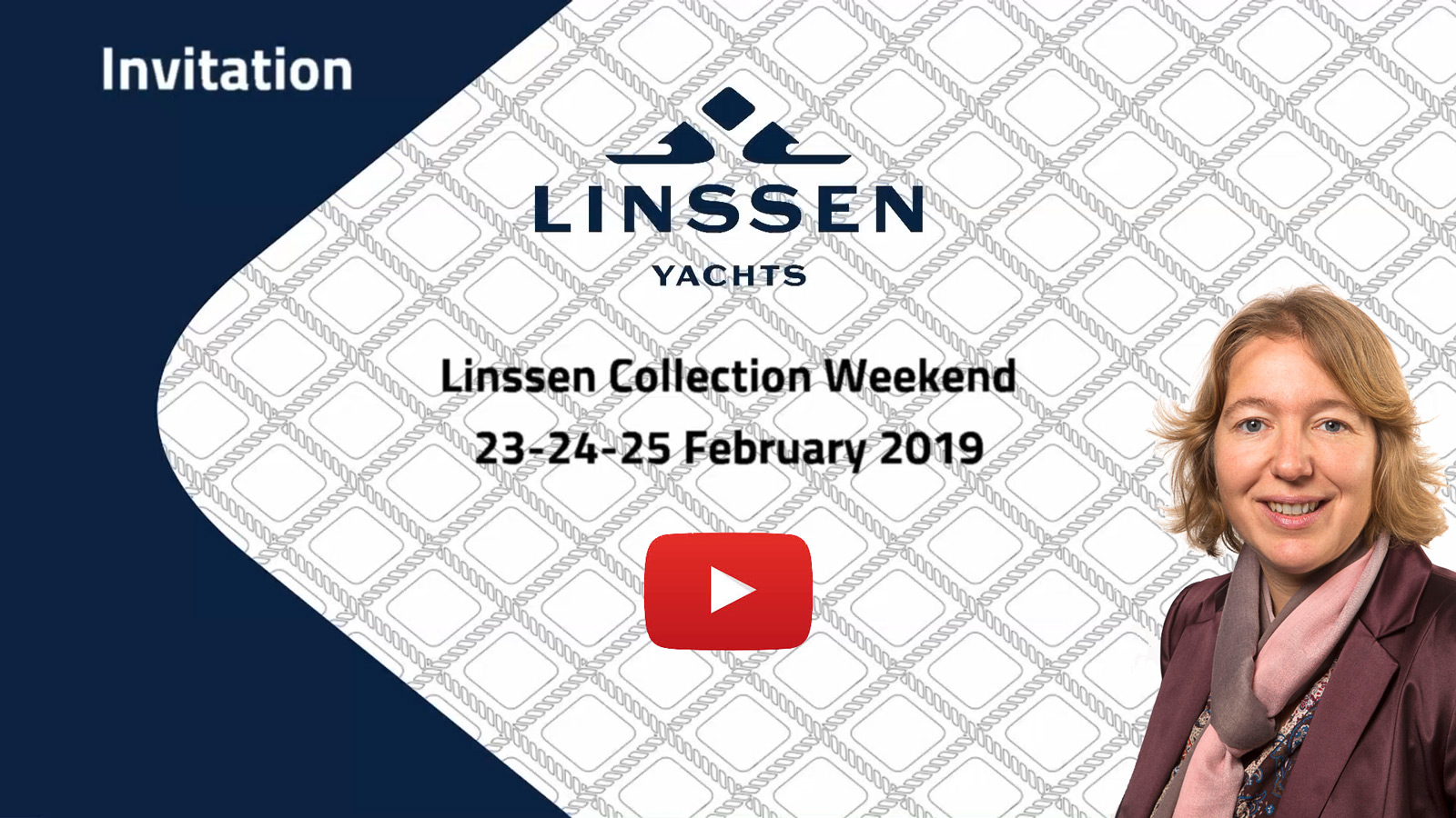 Yvonne Linssen invites you to the Linssen Collection Weekend