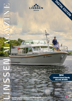 Linssen Magazine no 57