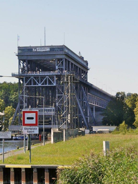 Now 80 years old, the Niederfinow boat lift
