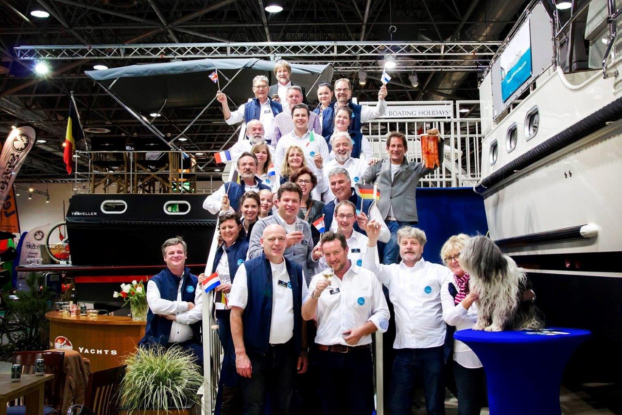Linssen Boating Holidays at BOOT Dusseldorf