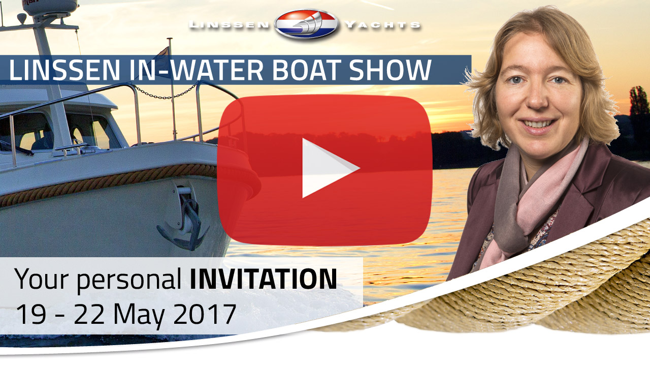 Invitation for the Linssen In-Water Boat Show 2017