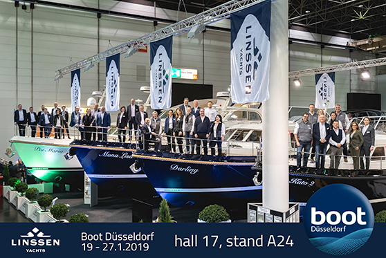 Linssen at BOOT Dusseldorf 2019