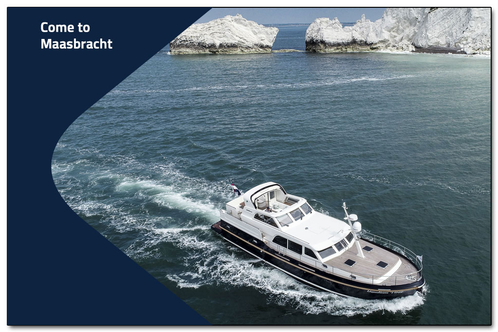 You are more than welcome to visit the Linssen Yachts shipyard.