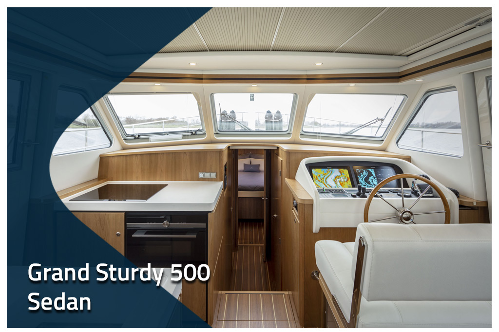 Grand Sturdy 500 Sedan Variodeck | Plan your summer holiday
