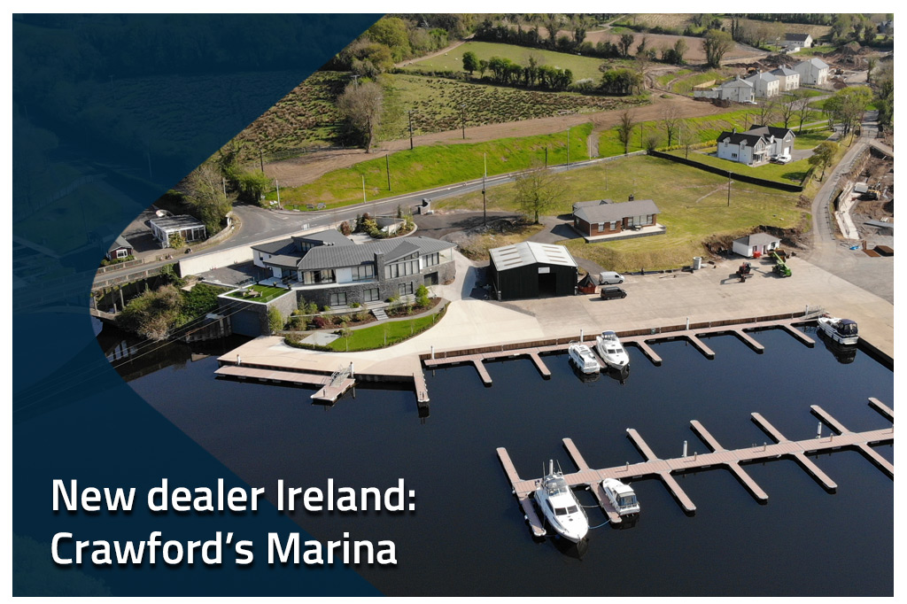 Linssen Yachts appoints Crawford's Marina as dealer for Ireland