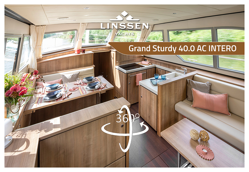 360 degree panorama of Linssen Grand Sturdy 40.0 AC INTERO