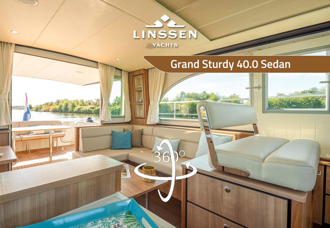 360 degree panorama of Linssen Grand Sturdy 40.0 Sedan INTERO