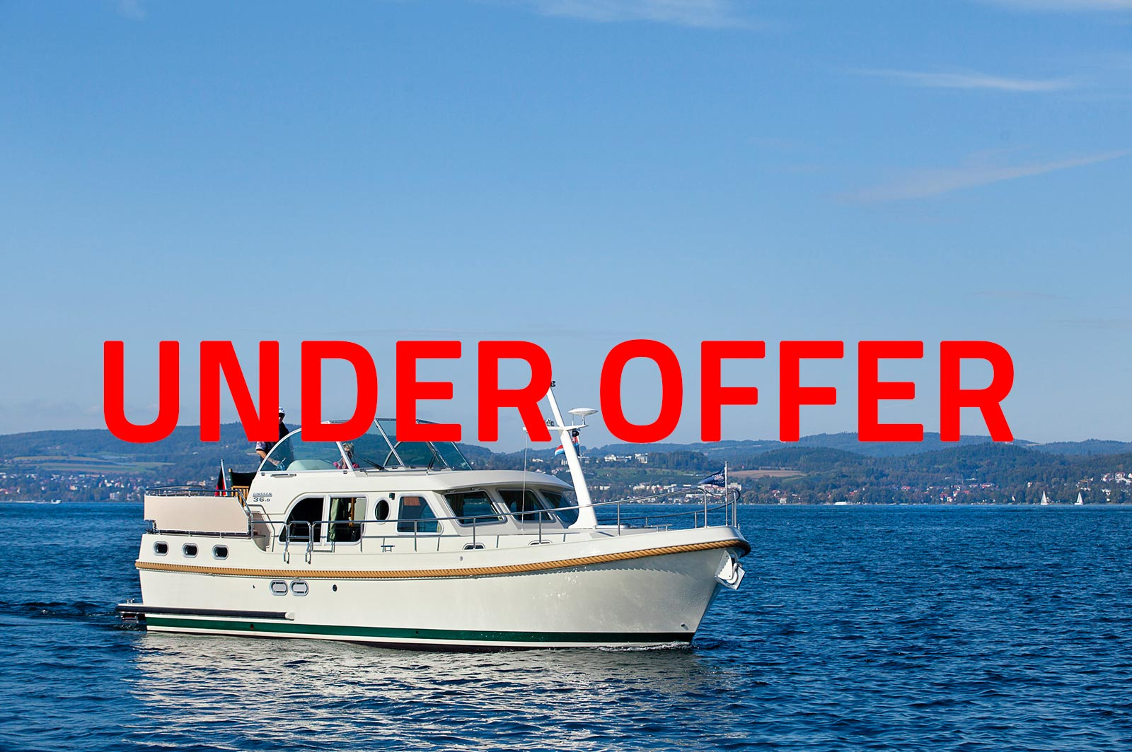 pre owned Linssen Grand Sturdy 34.9 Sedan