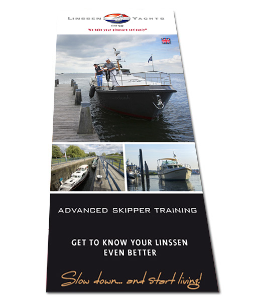 Linssen Advanced Skipper Training flyer