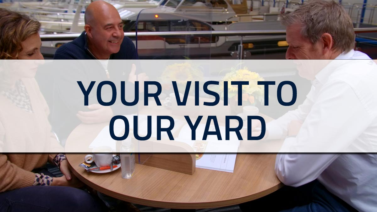 You visit our yard. Where we're waiting for you.