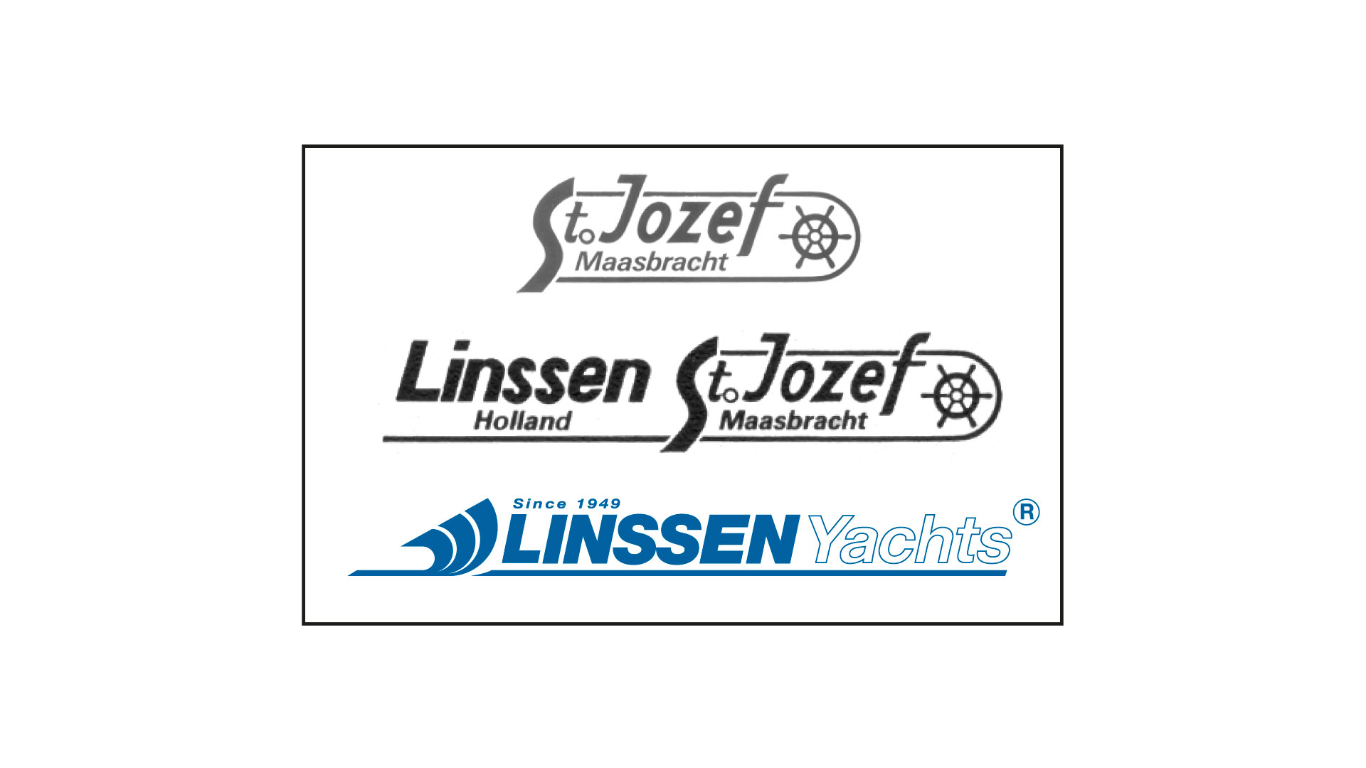 from St Jozef to Linssen Yachts