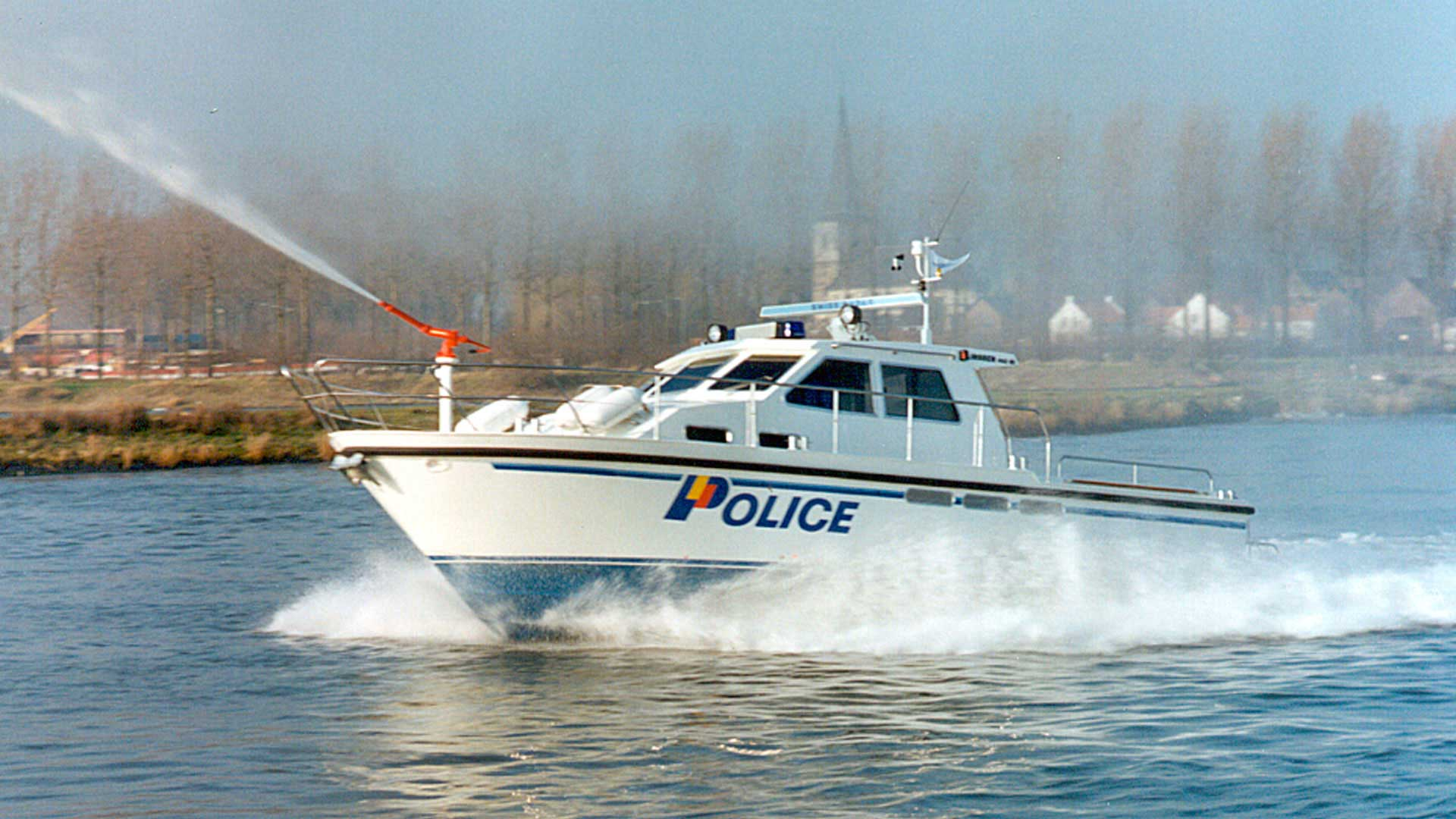 Linssen 115SX Patrol for police in Geneva