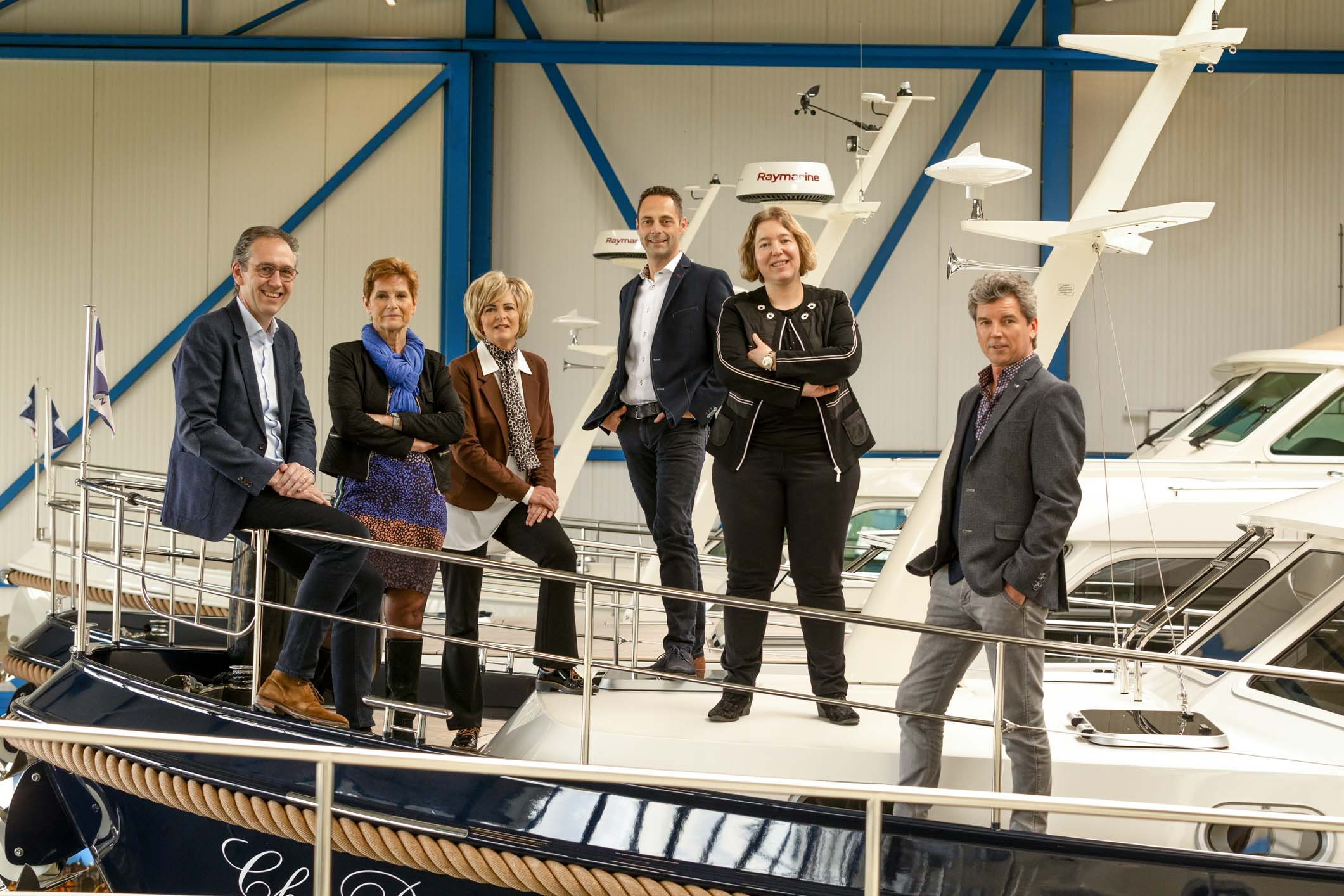 Linssen Yachts management team