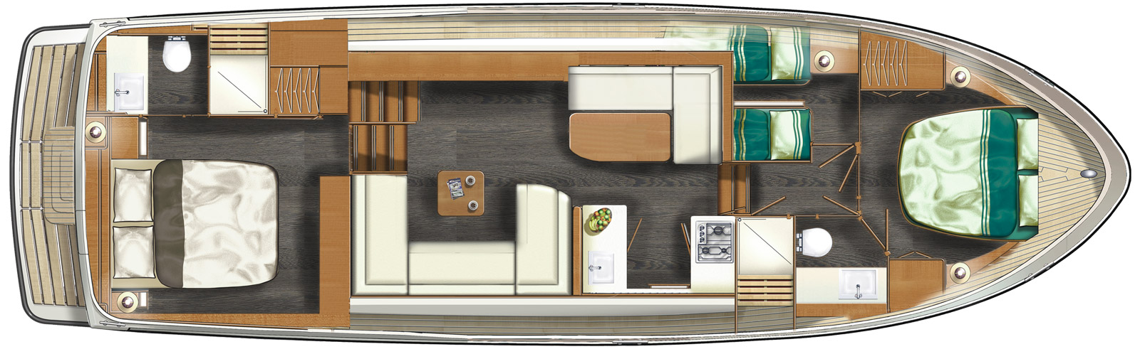 Linssen Grand Sturdy 45.0 AC layout