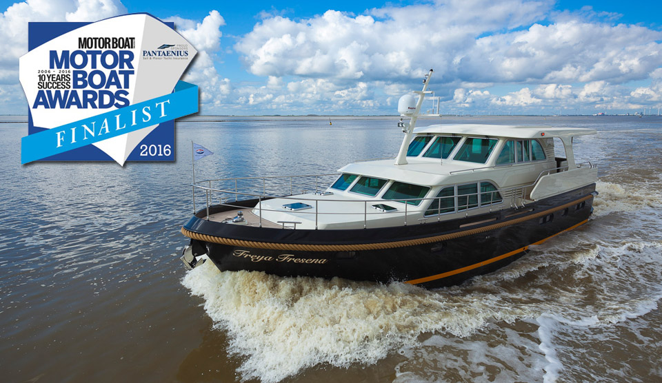 GrandSturdy 530 AC Wheelhouse finalist for IPC motorboat of the year 2016