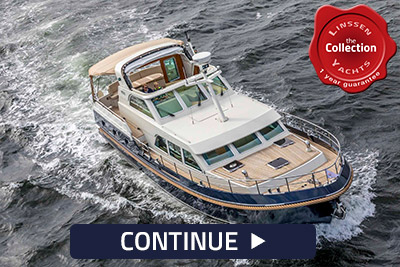 pre owned Linssen yachts
